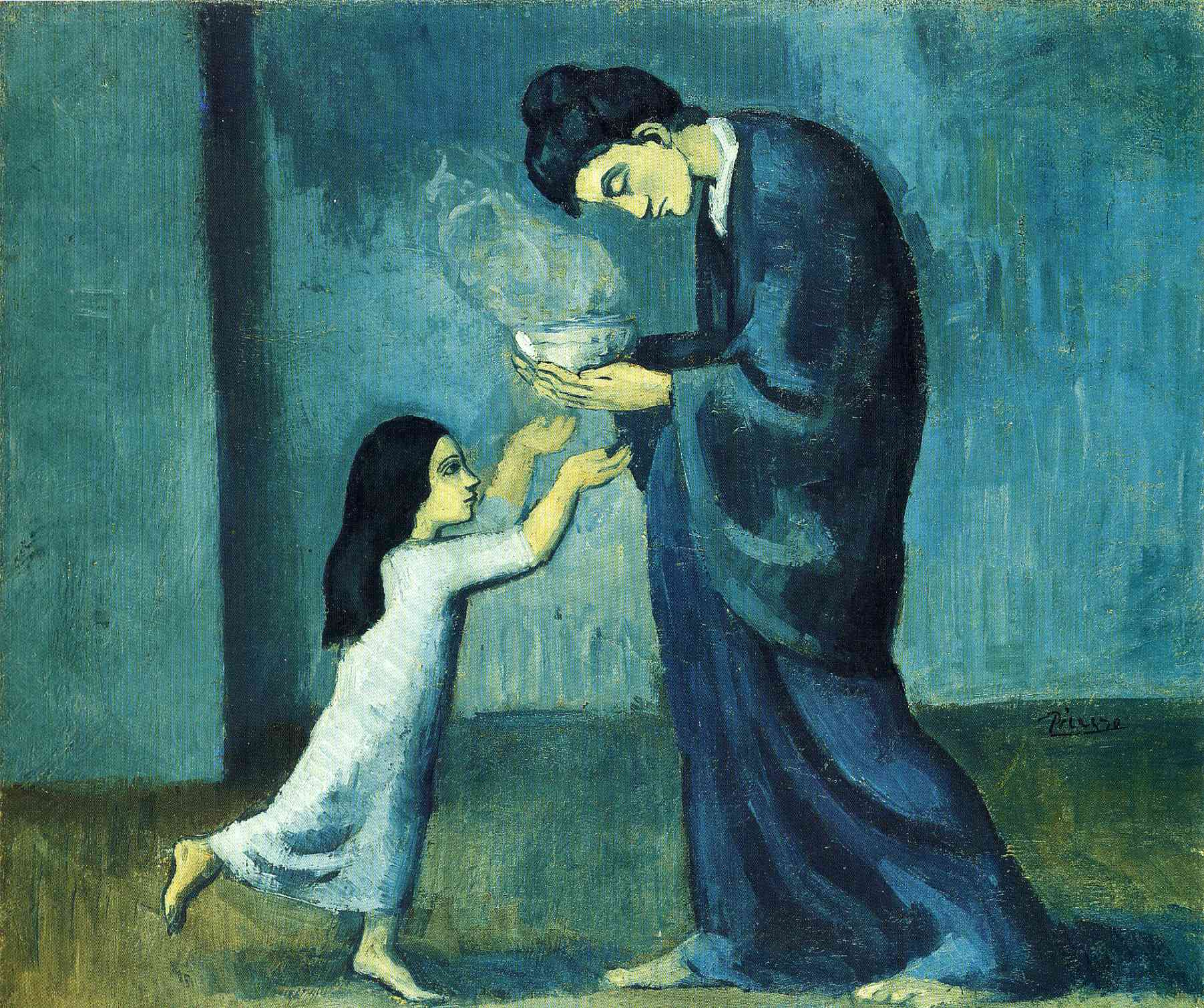 Cuadros De Picasso Wikipedia File Pablo Picasso 1902 03 La Soupe The Soup Oil On