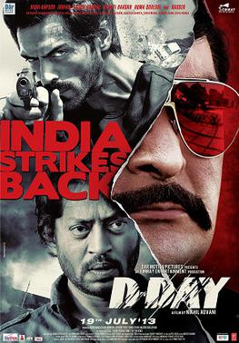 Download D-Day (2013) Hindi Movie 400MB BRRip 480P