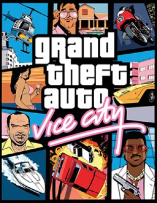 Vice city cover Download Free PC Game GTA VICE CITY Full Version