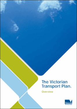 Victorian Transport Plan cover