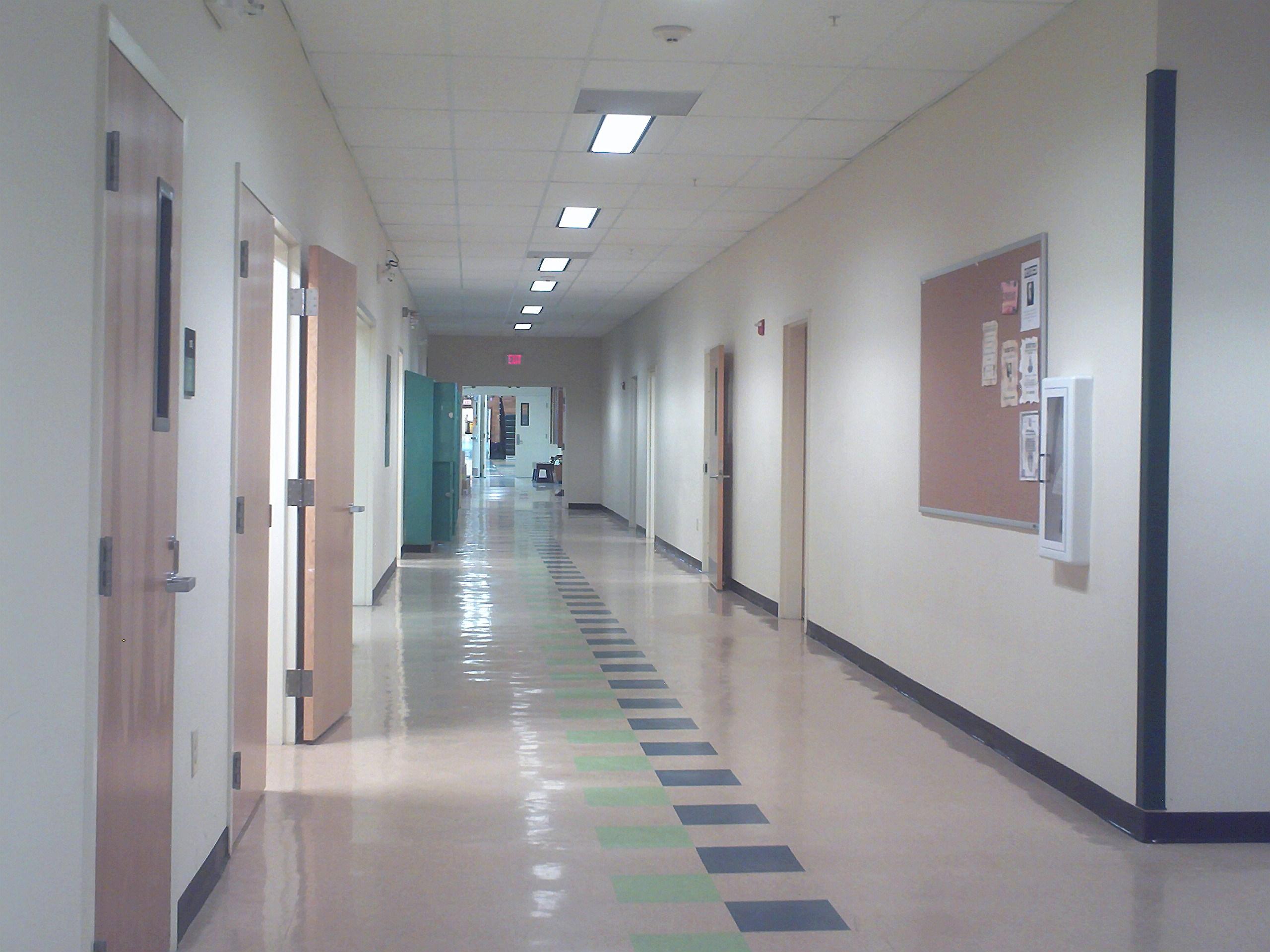 3d Wallpaper Decorating Ideas File Penobscot Valley High School Main Hallway Jpg