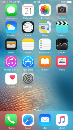 How To Change Wallpaper On Iphone 5c Ios 9 Wikiwand
