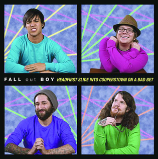 Fall Out Boy Wallpaper Mania Headfirst Slide Into Cooperstown On A Bad Bet Wikipedia