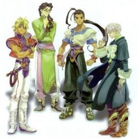 3d Japanese Wallpaper Characters Of Xenogears Wikipedia