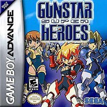 White Anime Wallpaper Gunstar Super Heroes Wikipedia