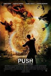 Film poster for Push - Copyright 2007, Summit ...