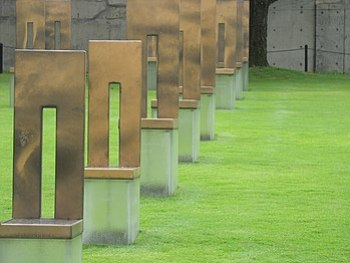 At the Oklahoma City National Memorial.