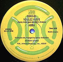 Voulez-Vous (song) - Wikipedia