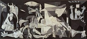 Pablo Picasso, 1937, Guernica, protest against...