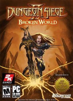 Free Hd Wallpaper Fall Dungeon Siege Ii Broken World Wikipedia