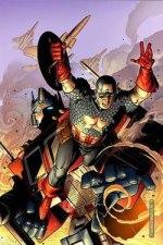 New Avengers Transformers Ics