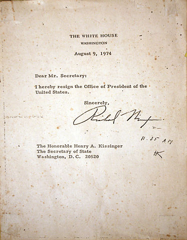 Nixon Resignation Letter. stunning awesome richard nixon resignation ...