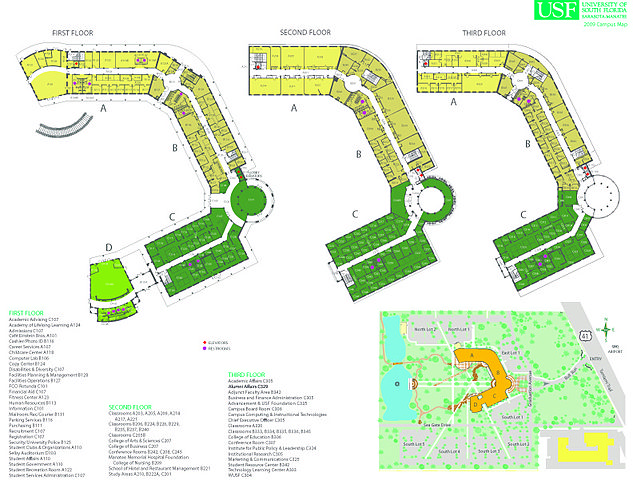 FileMap Seagate campus 83d40m University of South Florida Sarasota