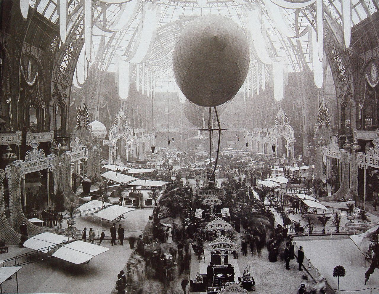 Salon De The A Paris File Salon De Locomotion Aerienne 1909 Grand Palais Paris Jpg