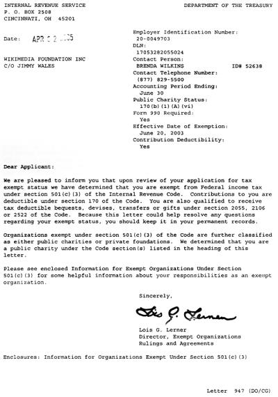 Donation Letter Non Profit Anization