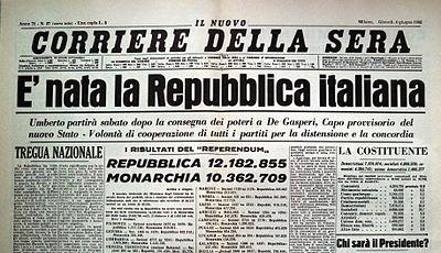 Nascita della Repubblica Italiana - Wikipedia