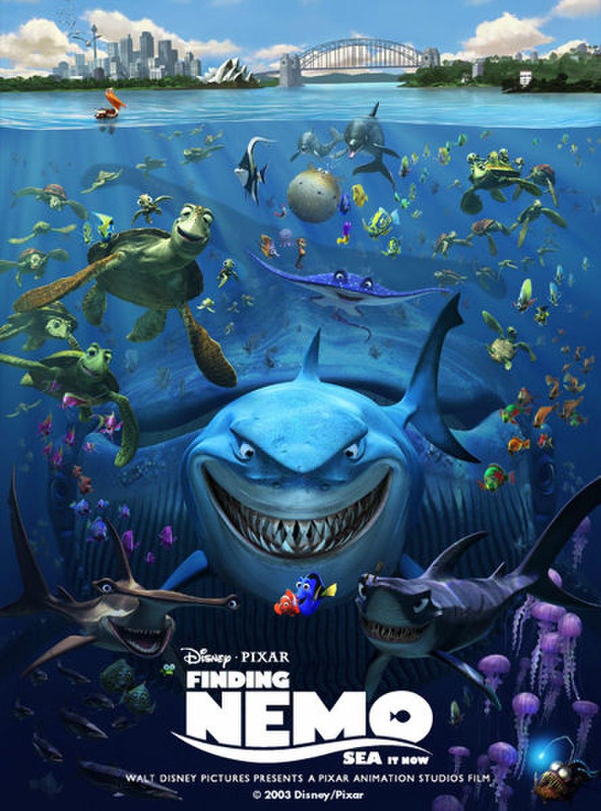 Finding Nemo Wallpaper 3d В поисках Немо Википедия