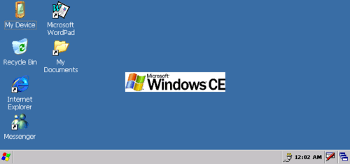 Windows CE 5.0 desktop