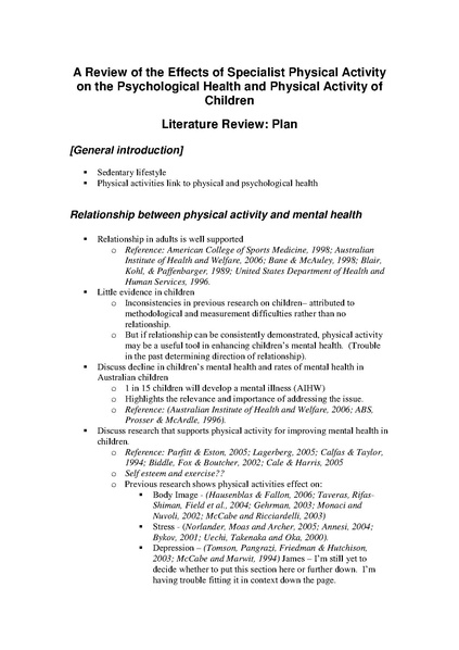 FileLiterature review plan (example)pdf - Wikiversity - literature review