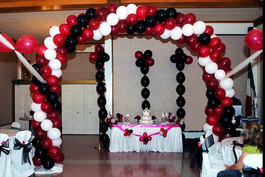 Universal Baby Arch Balloon Arch Three Color Balloon Arch