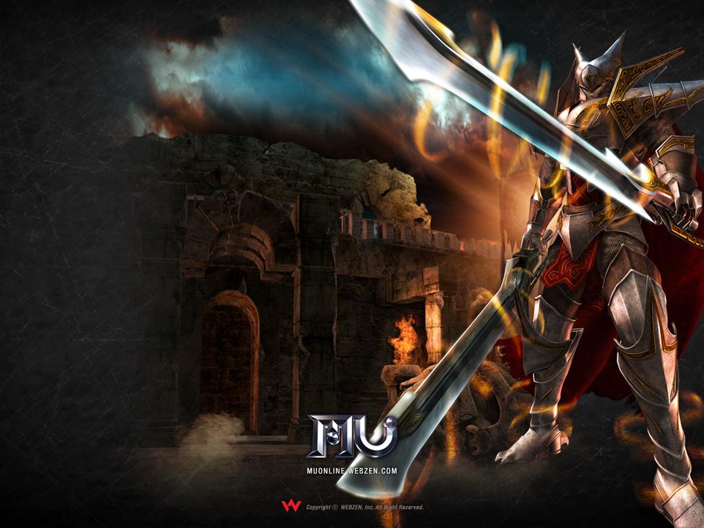 1280x800 Hd Wallpaper 3d Mu Online Medieval Fantasy Mmorpg