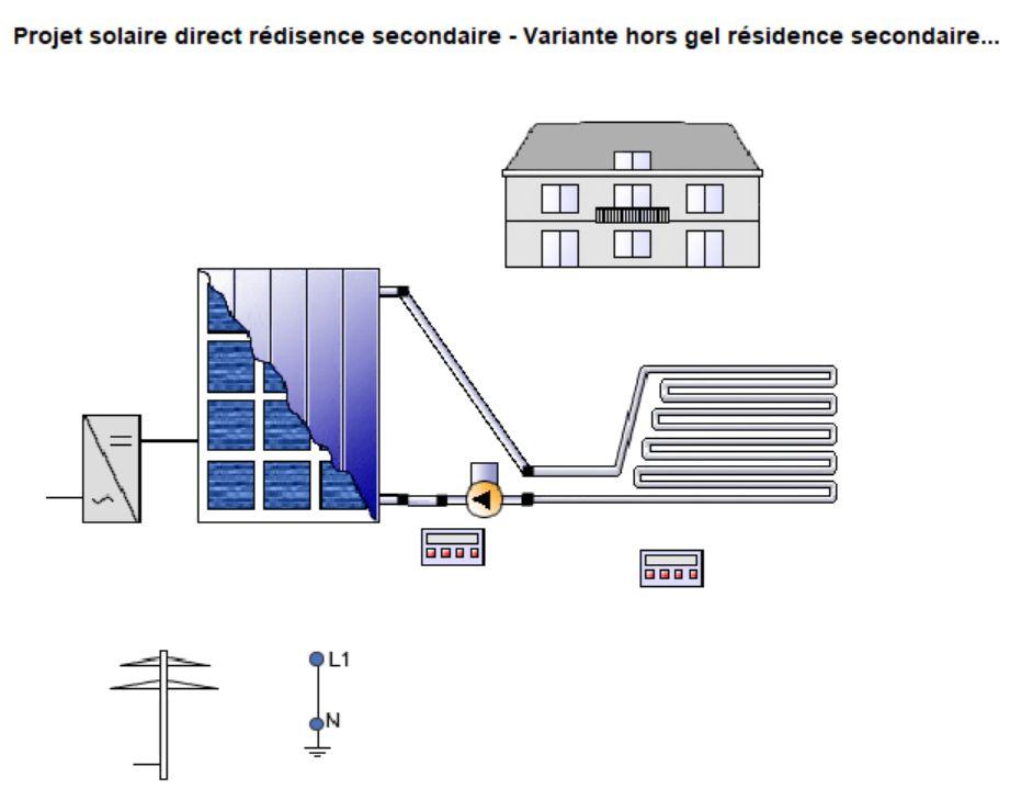chauffage solaire d\u0027appoint - Panneau Solaire Chauffage Maison