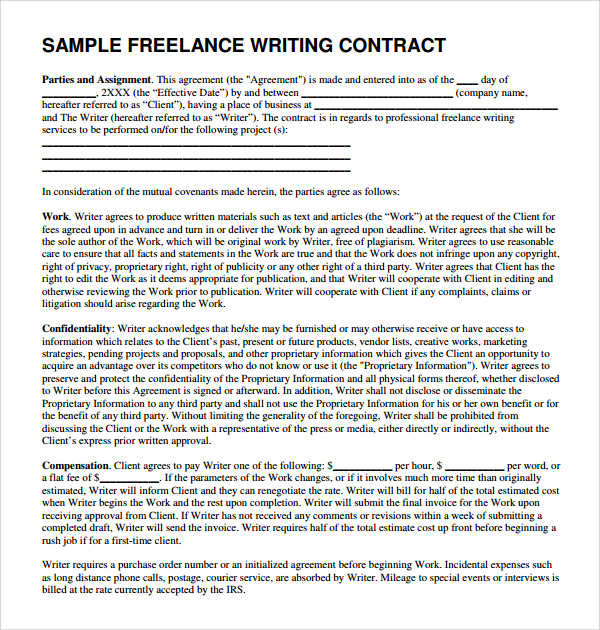 Get a content writing proposal sample that will help you land high - proposal sample