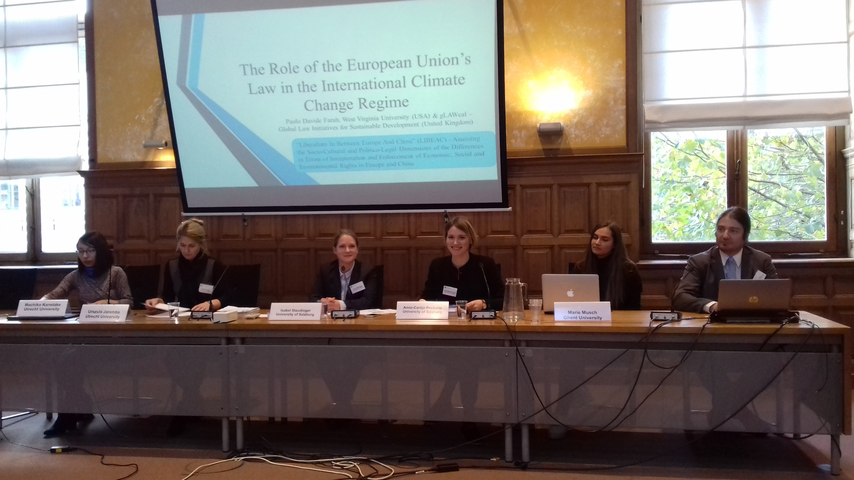 Renforce Conference Utrecht The Role Of The European Union S Law In The International Climate