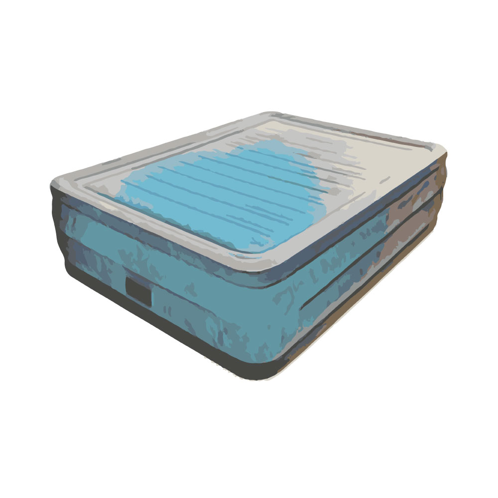 King Size Air Bed Camping Air Mattress Dimensions Twin Queen And King Sizes Bedowl