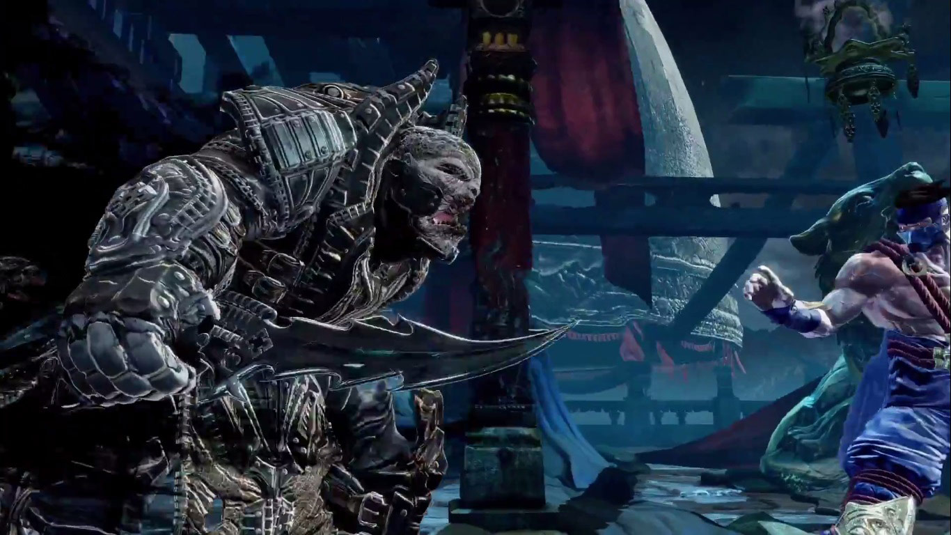 De Raam Of Het Raam Gears Of War Villain General Raam Now Available In Killer Instinct