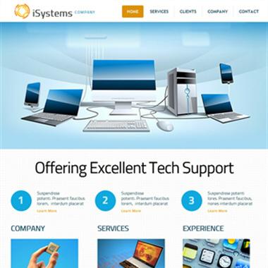Free Company Profile Template Rfp Free Website Templates