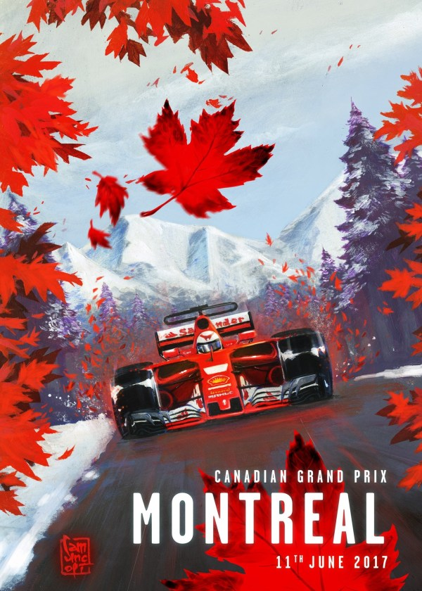 Formula 1 One Race Car Wallpaper Bright F1 2017 7 Grand Prix Du Canada Formule 1 Comp 233 Tition