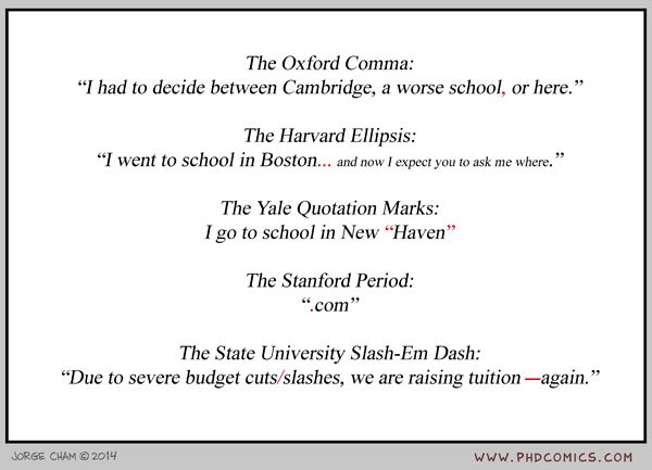 The Oxford Comma and Other Punctuation Marks - Neatorama - comma and and