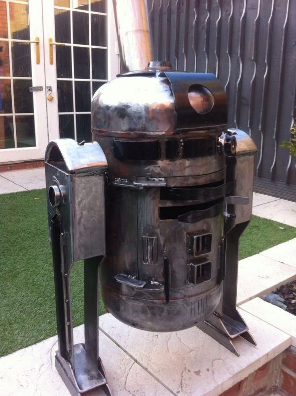 Meuble De Camping Carrefour Beautiful R2-d2 Wood Stove Is The Droid You're Looking For