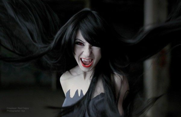 Adventure Time Anime Wallpaper Eerie Marceline The Vampire Cosplay Neatorama