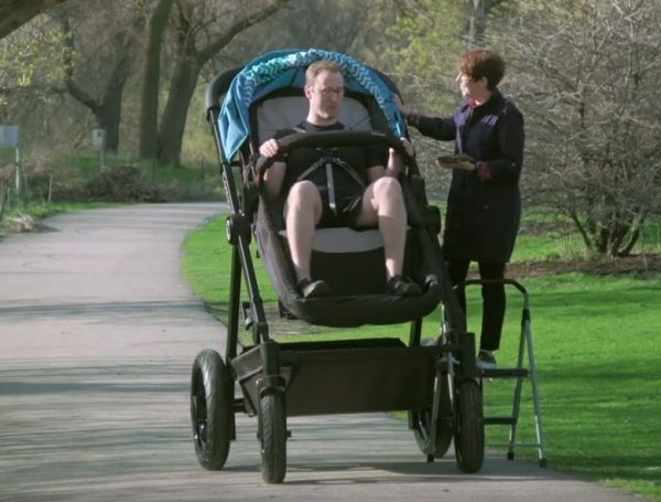 Jogging Stroller For Adults Finally A Stroller For Adults Neatorama