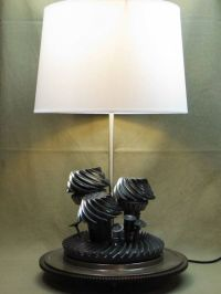 Lamps from Old Car Parts - Neatorama