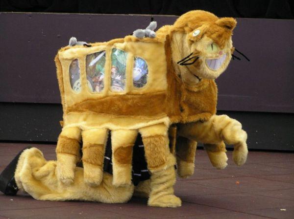 Cute Halloween Cat Wallpaper Catbus Cosplay You Re Doing It Wrong Neatorama
