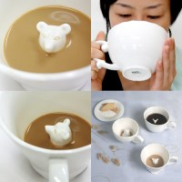 Animals Hidden in Coffee Cups - Neatorama
