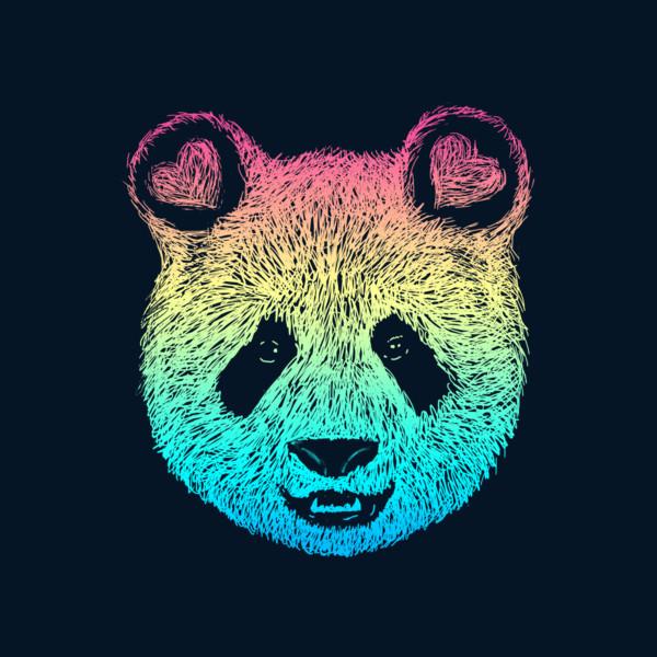 Cute Wallpaper Phone Case Rainbow Panda Wallpaper Impremedia Net