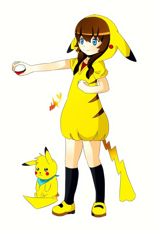 Happy Cute Girl Wallpaper Pics For Gt Anime Pikachu Girl Wallpaper