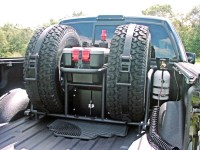 Where do you keep your spare? - Nissan Frontier Forum