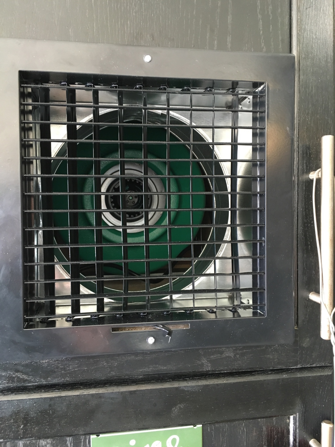 A Garage Exhaust Fan My Garage Exhaust System Botl Brothers Of The Leaf Cigar Forums