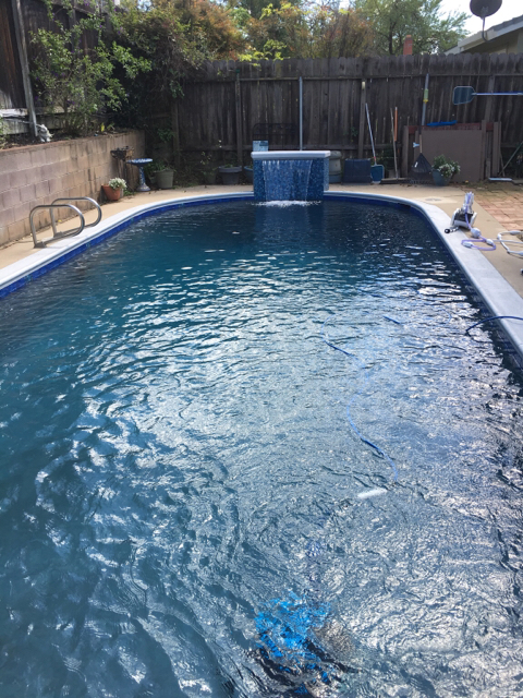 Trouble Free Pool Concerned Contractor Used Wrong Plaster Color
