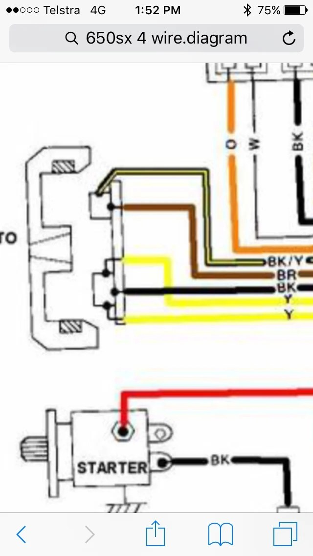 5 Wire Stator Wiring Diagram - Wiring Diagrams
