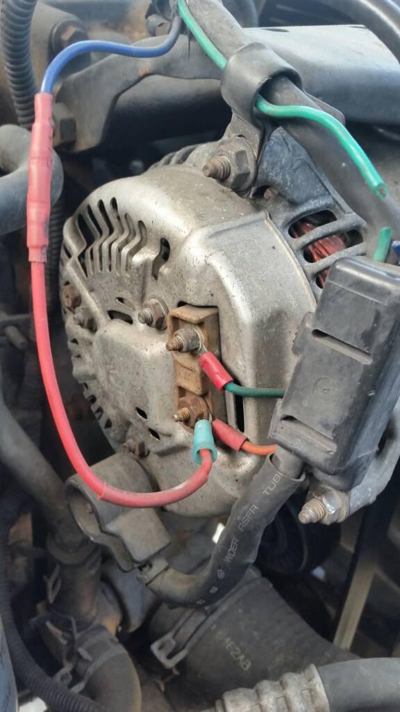 93 Dodge Cummins Alternator Wiring Wiring Diagram