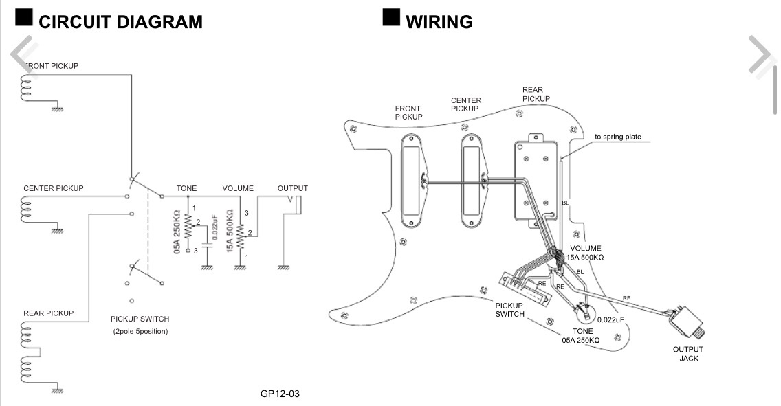 yamaha pacifica 611 wiring diagram