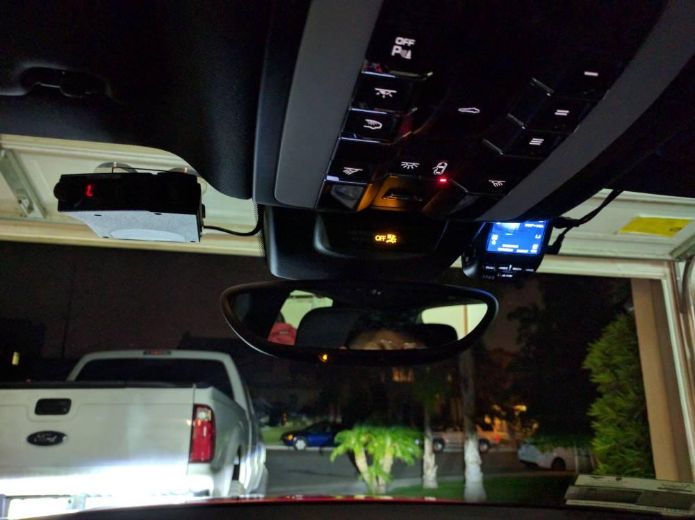 Hardwired V1and dashcam - Porsche Macan Forum
