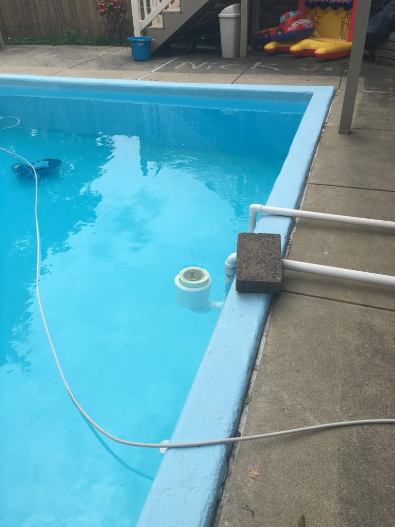 Trouble Free Pool Installing A New Skimmer In Existing In Ground Pool.