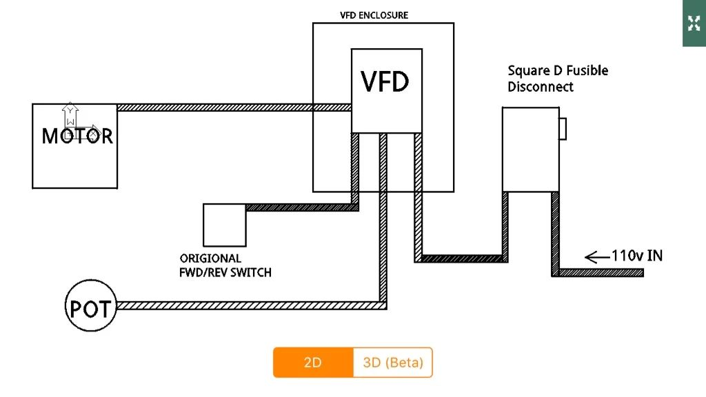 vfd wiring potentiometer wiring diagram schematic